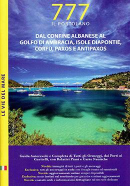 777 DAL CONFINE ALBANESE AL GOLFO DI AMBRACIA, ISOLE DIAPONTIE, CORFù, PAXOS E ANTIPAXOS