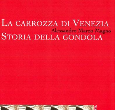 La storia della Gondola veneziana in un libro