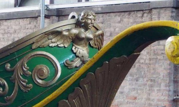 Le bissone della regata storica