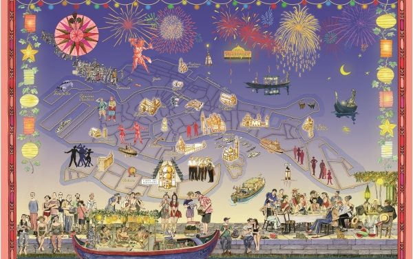 Mappa della Festa del Redentore