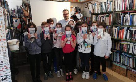 Andrea Molesini incontra i bambini di Burano