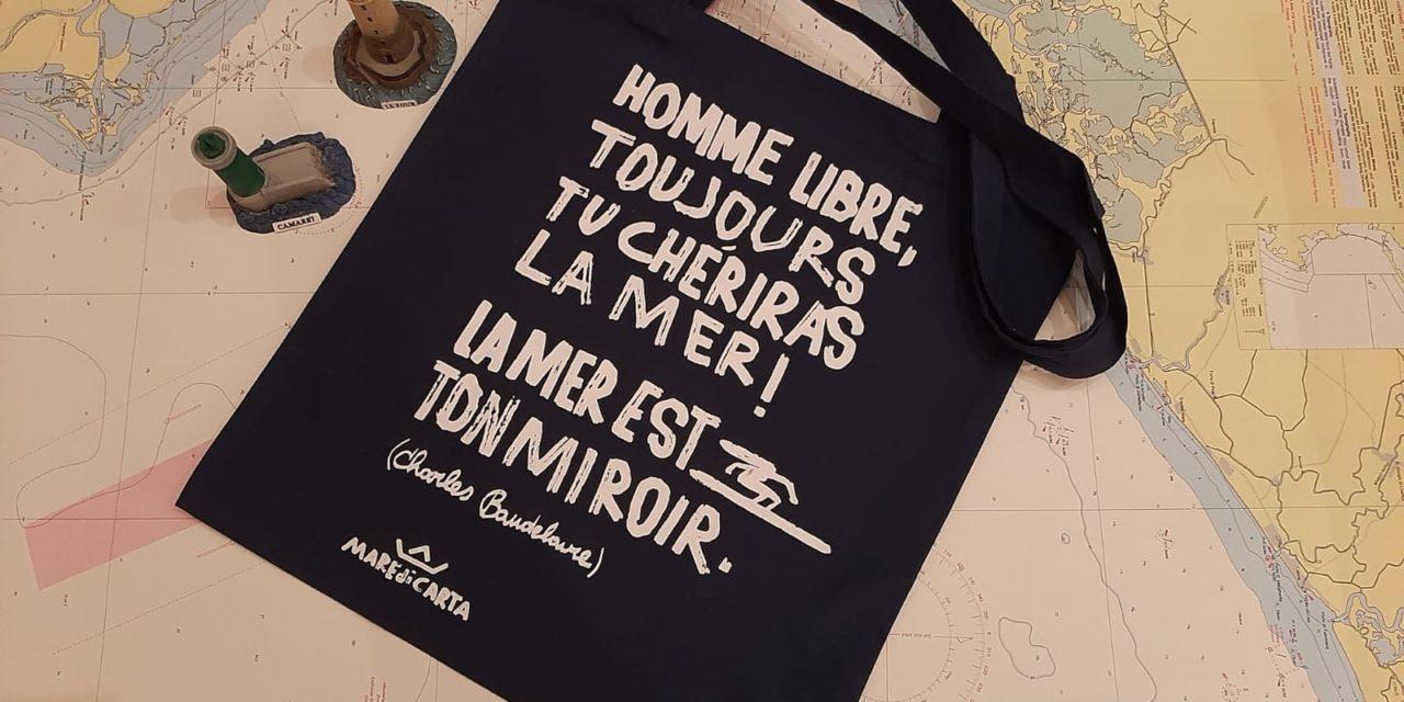 Scopri la nuova shopper ispirata al mare… e a Baudelaire