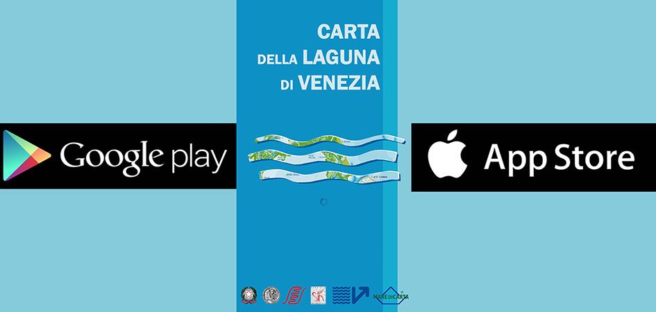 Carta della Laguna di Venezia: APP Android e iOS