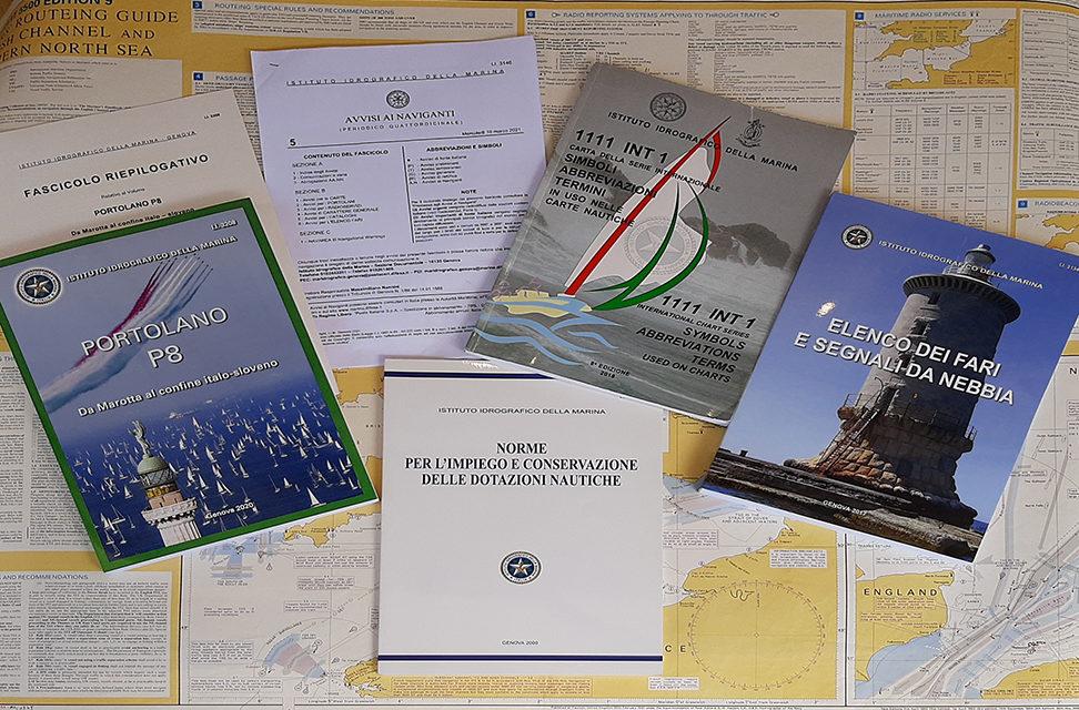 Come aggiornare una carta nautica