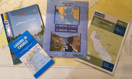 Come scegliere le carte da diporto marittime e fluviali